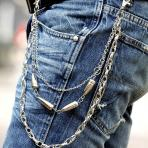 Мужские пояса с цепью