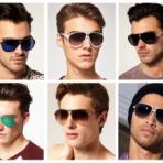 Как выбрать модные мужские очки