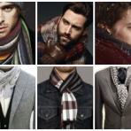 Разновидности мужских шарфов